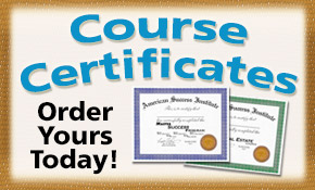 Order Your Certificates