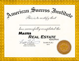 Master Real Estate Course Certficate