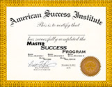 Master Success Course Certficate